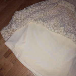 Cooperative Dresses - Cooperative Strapless Dress Size Large
